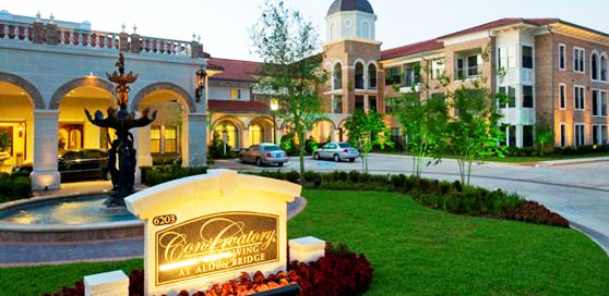 The Woodlands of Texas senior assisted living community
