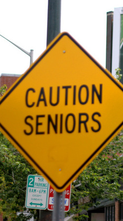 Caution Seniors (Low Income Housing)
