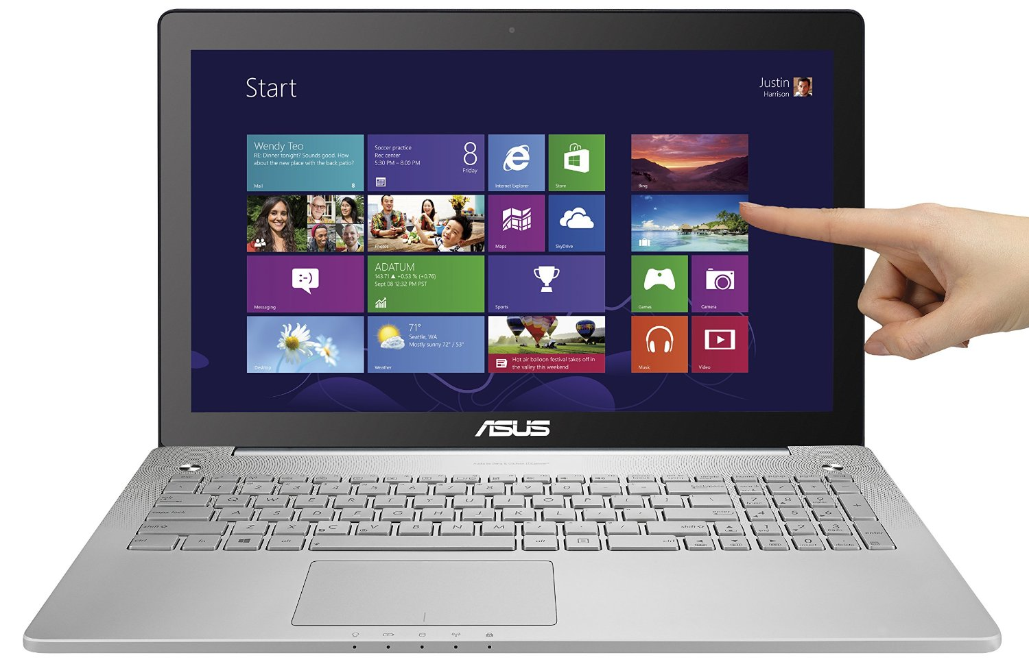 The Best Senior Laptops 2017 Compared Reviewed Assisted Living Today Add Ram To Your Laptop Easily Asus N550jk Ds71t 156 Full Hd Touchscreen Quad Core I7 W Aluminum Body 8gb 1tb