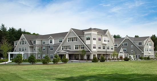 Massachusetts has some of the best assisted living facilities in the country. Pictured here: Stonebridge at Burlington