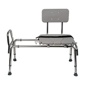DMI Shower Tub Transfer Bench Chair