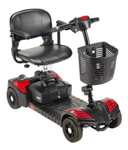 Drive Medical Spitfire Scout 4 Wheel Travel Power Scooter
