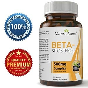 Mega Strength Beta-Sitosterol Prostate Supplement