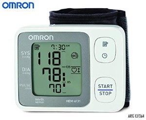 Omron HEM-6131 Automatic Wrist Blood Pressure Monitor