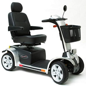 Pride Mobility Pursuit 4-Wheel Electric Mobility Scooter