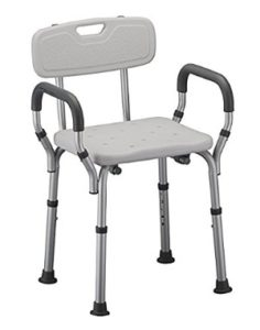 Shower Chair with Arms by Healthline Trading