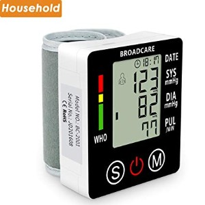 Wrist Blood Pressure Monitor from BROADCARE