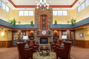 Image of Select Senior Living facility - interior lobby