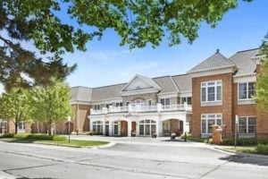 Image of Sunrise of Grosse Pointe Woods faciility - exterior