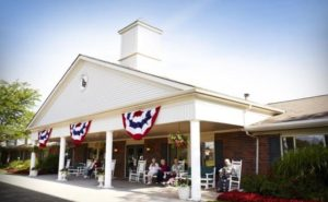 Image of American House Sterling Heights Senior Living faciility - exterior