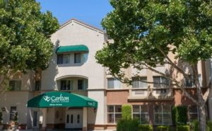 Image of Carlton Senior Living San Leandro facility - exterior