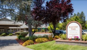 Image of Rohnert Park Retirement Community - Happy Living faciility - exterior