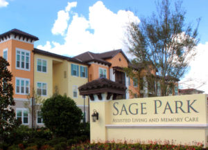 Image of Sage Park Assisted Living and Memory Care faciility - exterior